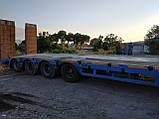 Низкорамный роздвижной трал YALÇİN DORSE - 4 LBUZ Год 2012 +380973061839 Александр, фото 5