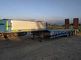 Низкорамный роздвижной трал YALÇİN DORSE - 4 LBUZ Год 2012 +380973061839 Александр, фото 10