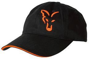 FOX BLACK & ORANGE BASEBALL CAP - КЕПКА