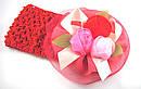 Детская широкая повязка с розами 12 шт/уп, фото 3