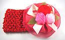 Детская широкая повязка с розами 12 шт/уп, фото 4