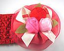 Детская широкая повязка с розами 12 шт/уп, фото 5
