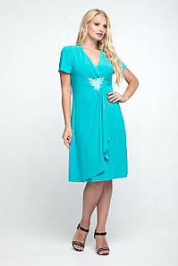 Нарядное женское платье, 50-60