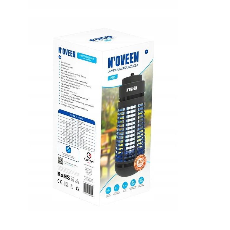 Уничтожитель насекомых  Noveen IKN 6  ( Уничтожитель комаров и мух, москитная лампа ловушка )