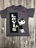 Детская футболка на мальчика «Левайс» (реплика)