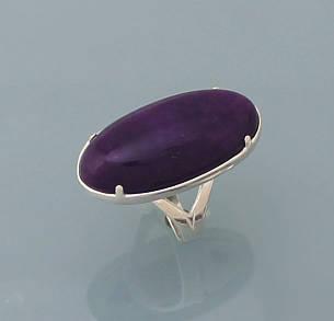 Кольцо из серебра 925 пробы с натуральным Халцедоном, фото 2