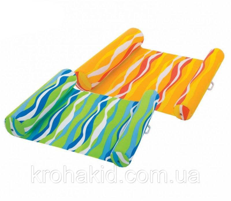 Надувний матрац-гамак для плавання Intex 58834, Габарити: 137х99 см