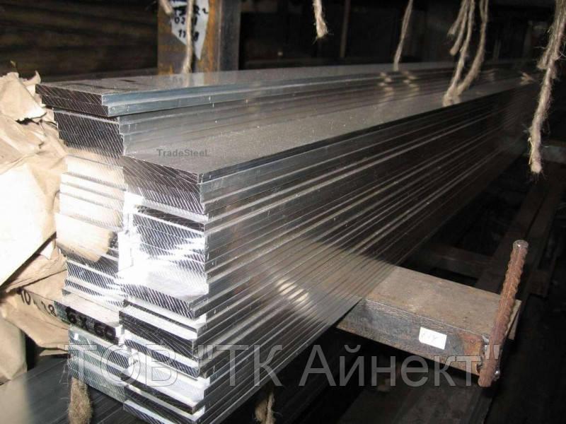 Шина алюминиевая полоса 10х60х3000 мм АД31 твёрдая и мягкая
