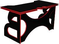 Стол для ПК Barsky Homework Game Red HG-05 LED (1400*700)