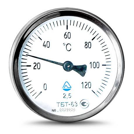 Термометр биметаллический ТБТ, фото 2