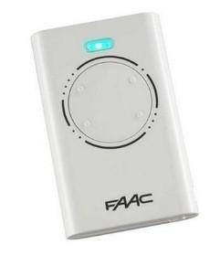 Пульт для ворот FAAC 4-канальный, белый