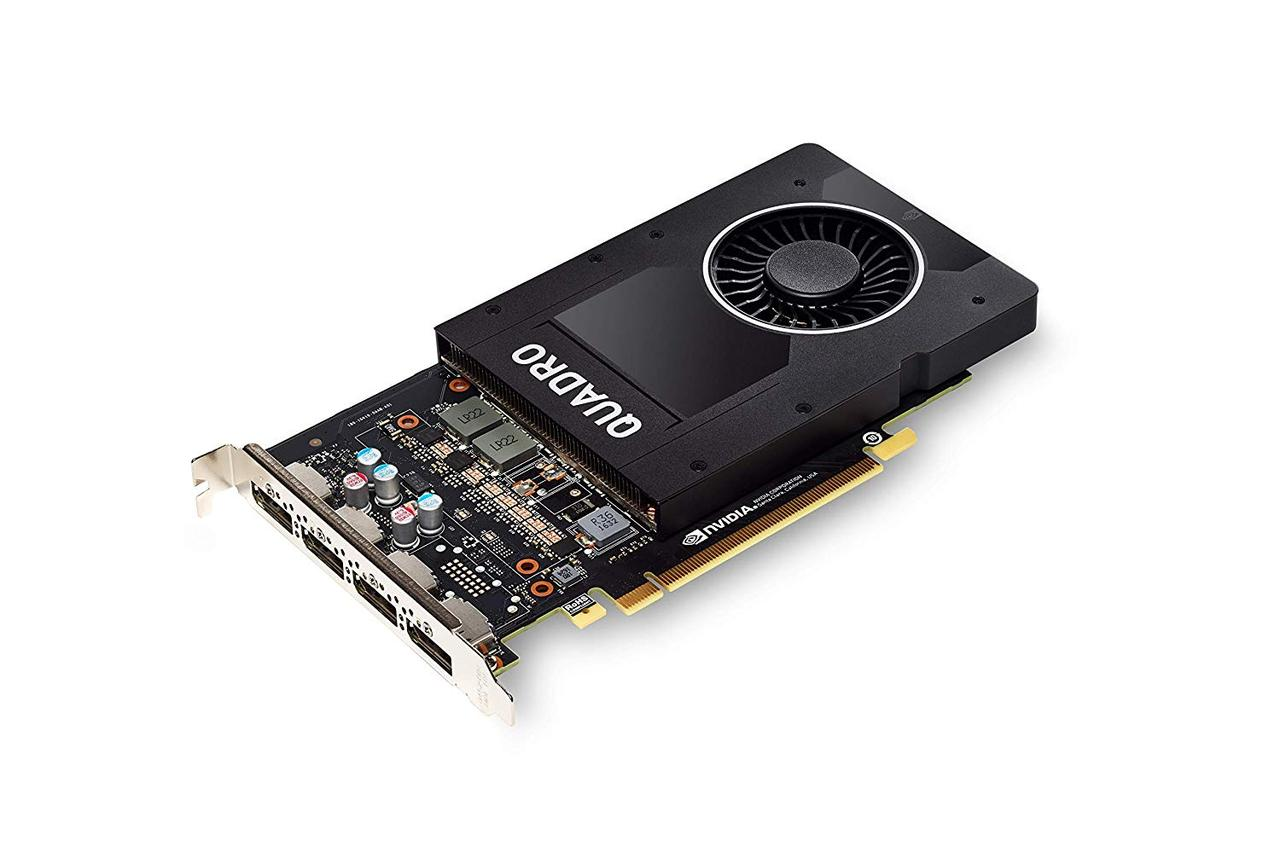Видеокарта NVIDIA Quadro P2000, 5GB, 4 DP, FH (490-BDTN)