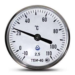 Термометр биметаллический ТБІ, фото 2