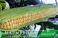 Сахарная кукуруза Мармурова F1, Sh2-тип, 1000 семян на 1.5 сотки,  75-78 дней, биколор