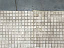 Мраморная Мозаика Полированная МКР-2П (23x23) 6 мм Victoria Beige, фото 5