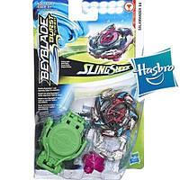Бейблейд Турбо - Саламандра S4 Hasbro оригинал Beyblade Burst Turbo Slingshock Salamander S4