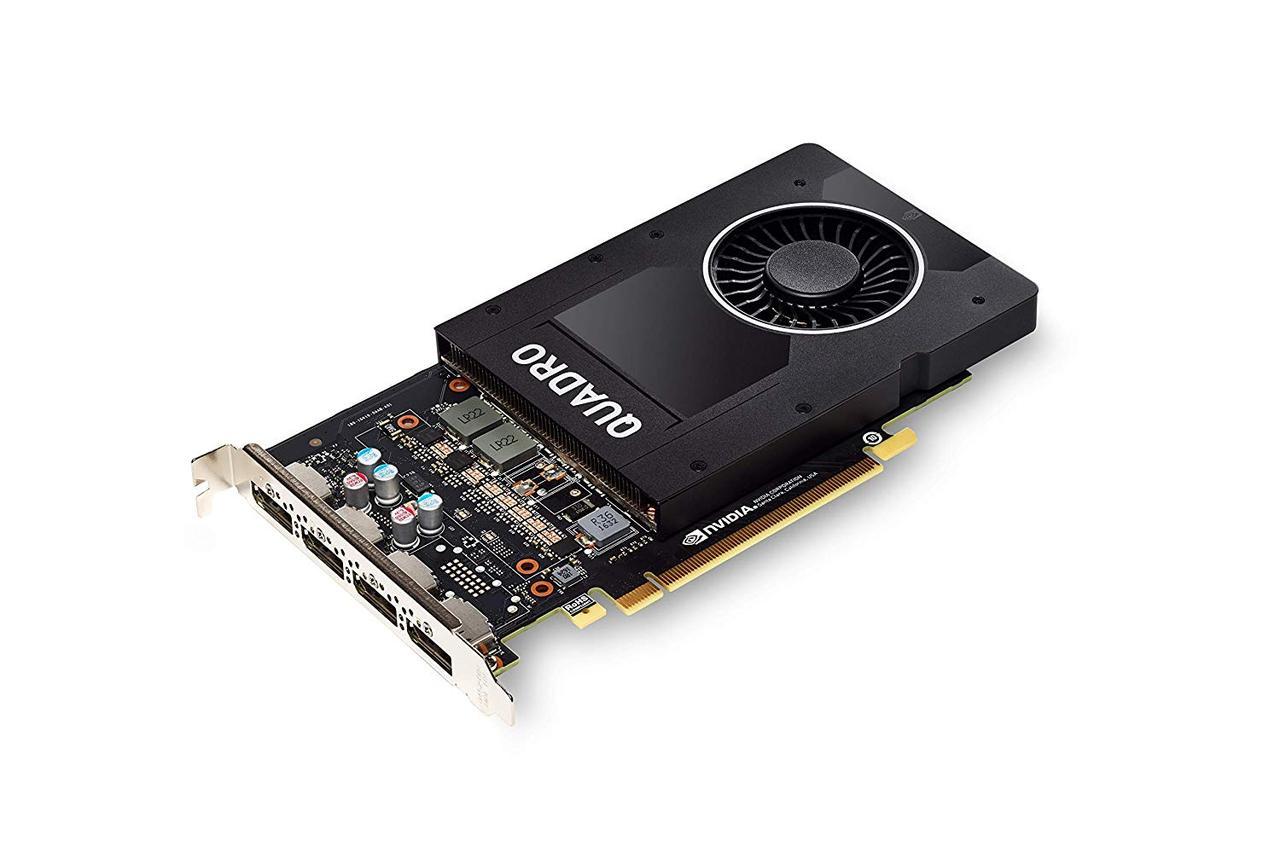 Видеокарта Nvd Qdr 5GB P2000 (4)DP Graphics (1JP20AV)