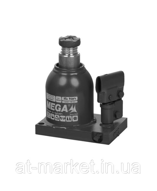 Домкрат бутылочный MEGA 15т (150-225мм)
