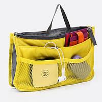 Органайзер Bag in bag maxi в сумку Желтый