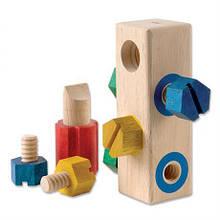 Игровой набор Guidecraft Manipulatives Блок с винтами