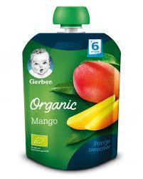 Пюре Gerber Pouch Органическое манго, 90 г