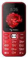Мобильный телефон Sigma X-Style 32 Boombox Red Гарантия 12 месяцев