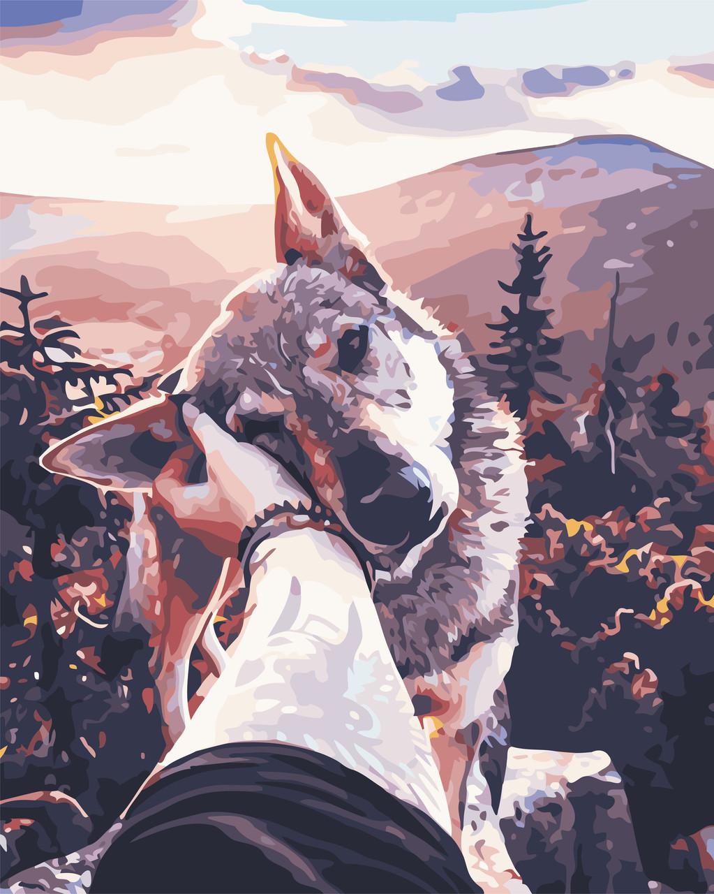 Картина по номерам Вірний друг, 40x50 см., Art Story