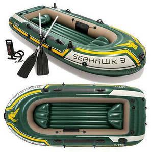 Лодка надувная INTEX SEAHAWK 3