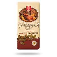 """Белорусский шоколад с начинкой """"Беловежская пуща"""" 100 гр ТМ Коммунарка"""