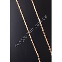 Женская цепочка на шею позолота 18к (Серебро) Медицинский сплав с покрытием