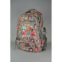 Школьный рюкзак для начальных классов с лисичкой