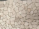 Мраморная Мозаика Стар.Валт. МКР-ХСВ (хаотичная) 6 мм Victoria Beige 23x15 мм, фото 5