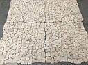Мраморная Мозаика Стар.Валт. МКР-ХСВ (хаотичная) 6 мм Victoria Beige 23x15 мм, фото 7