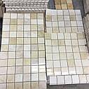 Мраморная Мозаика Полированная МКР-3П (47x47) 6 мм Beige Mix, фото 4