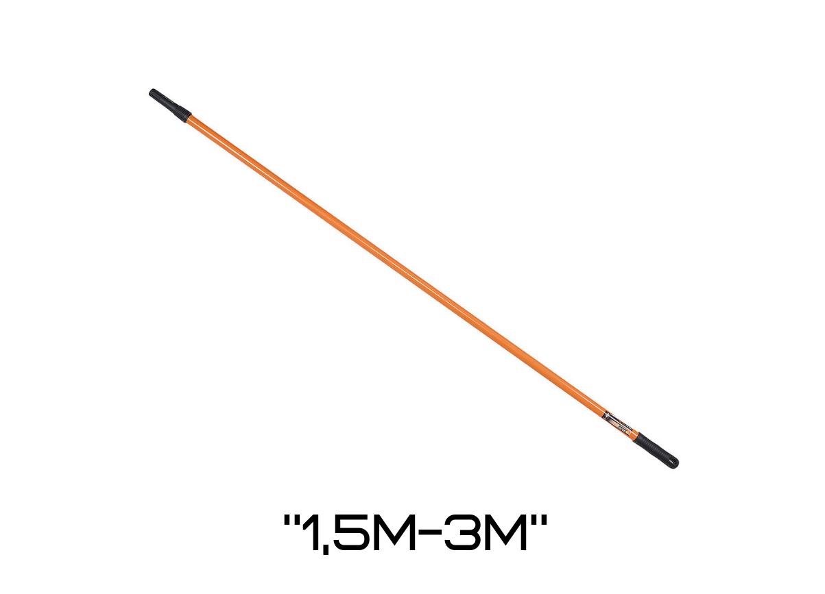 """Ручка для валика телескопическая """"Polax"""" 1,5м-3м"""