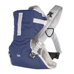 "Нагрудная сумка ""Easy Fit"", Chicco Серый с синим"
