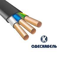 Кабель мідний ВВГнг-LS-П 3*1,5 (ож) -0,66, Одескабель