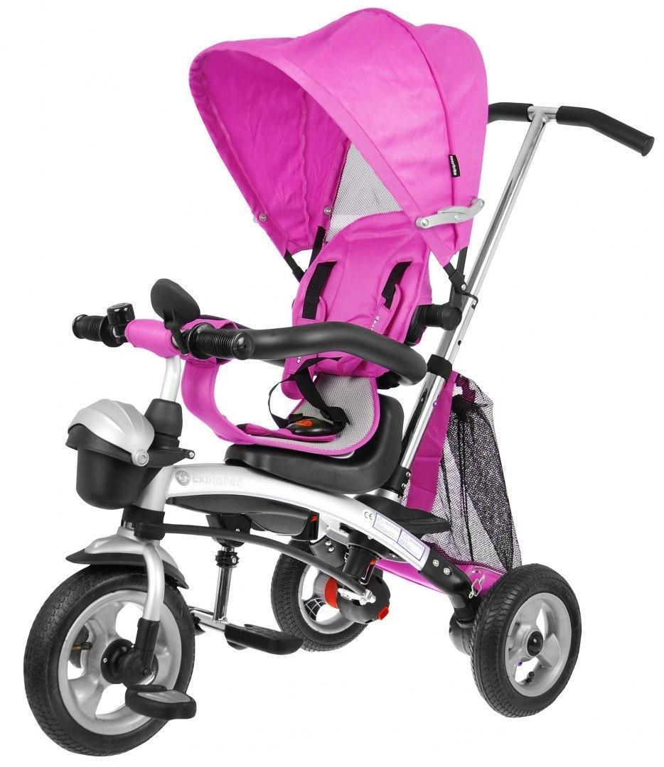 Детский трехколесный велосипед Sportrike EXPLORER AIR Розовый