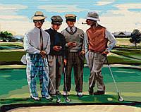 """Картина по номерам. Brushme """"Партия в гольф"""""""
