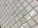 Мраморная Мозаика Полированная МКР-2П (23x23) 6 мм White Mix, фото 3