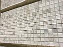Мраморная Мозаика Полированная МКР-2П (23x23) 6 мм White Mix, фото 6