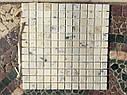 Мраморная Мозаика Полированная МКР-2П (23x23) 6 мм White Mix, фото 8