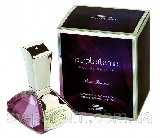 Парфюмированная вода женская Purple Flame 100ml