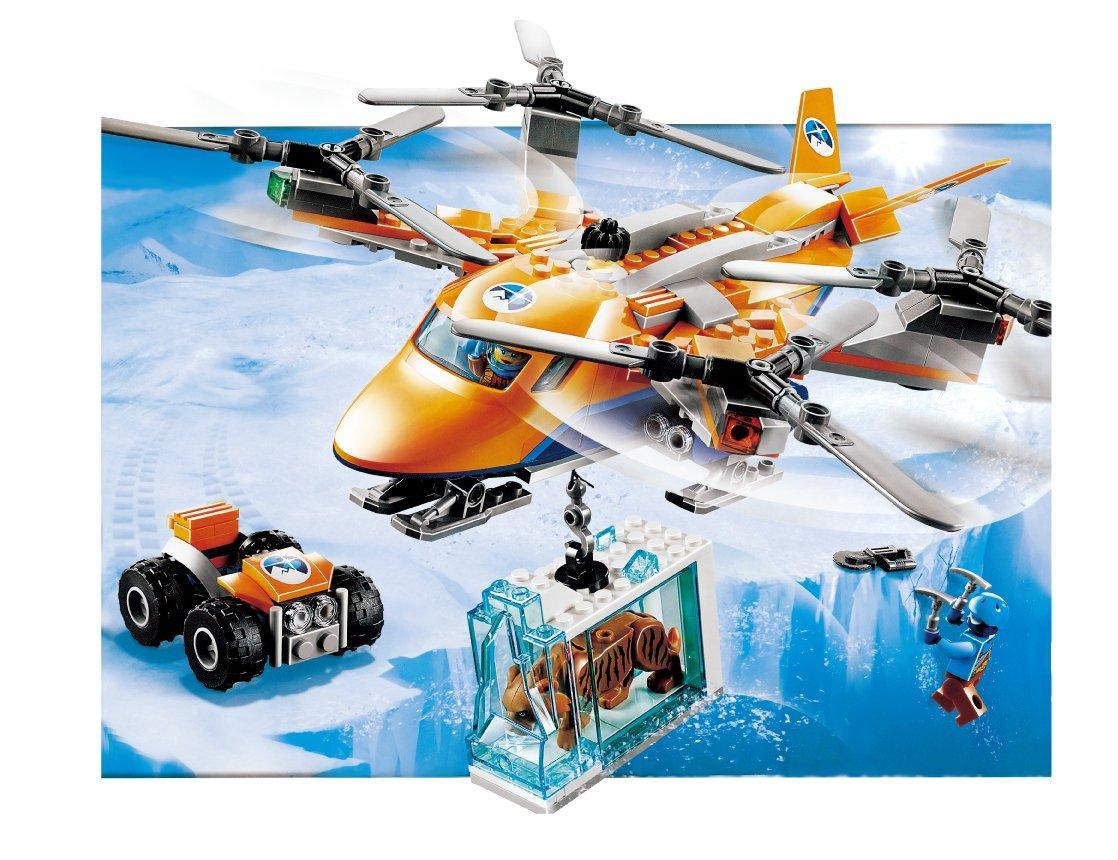 Конструктор JVToy 24001 Экспедиция на вертолете 310 деталей (аналог Lego City Arctic лего) , фото 1