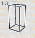 Конструктор (каркас) кутові вітрини та прилавки з алюмінієвого профілю (2578)1449,2576,2721, фото 4