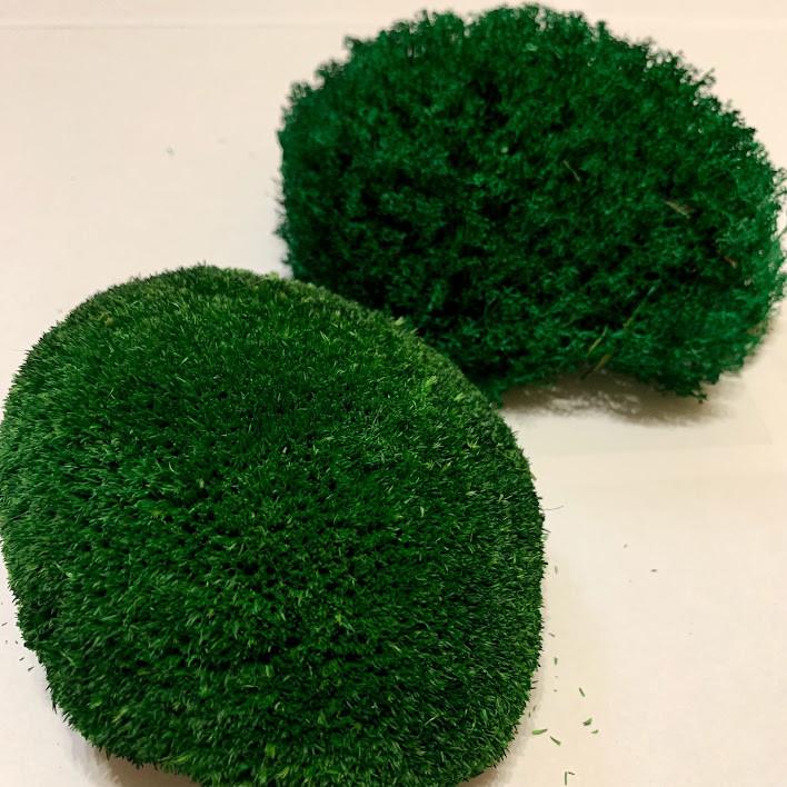 Стабілізований мох темно-зелений
