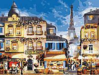 Картина по номерам В центрі Парижу, 50x65 см., Art Story