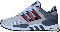 Мужские кроссовки Adidas Equipment Gray / Red