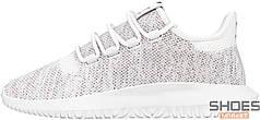 Женские кроссовки Adidas Tubular Shadow Knit FTW White/Grey One/FTW White CQ0928