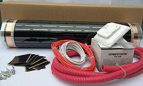 Готовые комплекты инфракрасного теплого пола с механическим терморегулятором